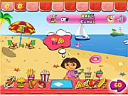 Dora Vacation game