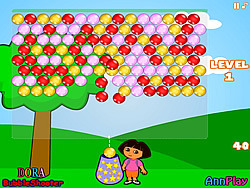 Dora Bubbleshooter game