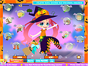 Kawaii Witch Dressup game