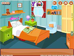 Triple Key Room Escape game