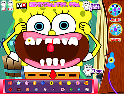 Spongebob Perfect Teeth game