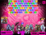 High Bubble Shooter game
