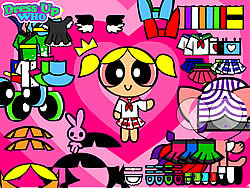Powerpuff Girls Dress Up game