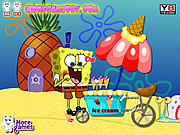 SpongeBob at Crazy Dentist game
