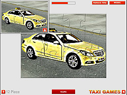 Mercedes Taxi Puzzle game