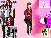 Korean Girl Dress Up game