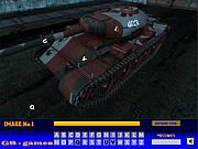 gra Tanks Hidden Letters