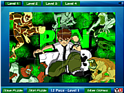 Ben 10 Jigsaw 2 game