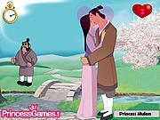 Princess Mulan Kissing Prince game