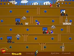Trapdoors and Treasure game