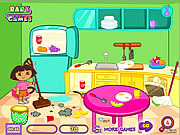 Dora Room Clean game