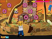 Simpson Hoops game