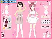 Love Bunnies Dress Up game