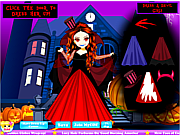 Vampire Princess Dressup game