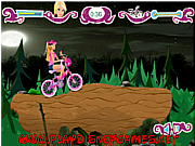 juego Barbie Halloween bike ride