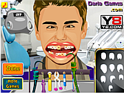 Justin Bieber at Dentist game