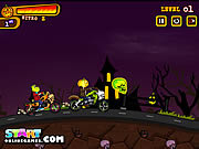Halloween Bike Race game