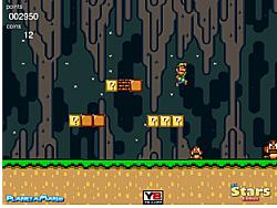 Luigi Cave World 3 game