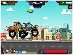 Tom's Truck Wars game