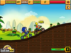 Sonic vs Simpson game