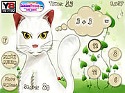 Cat Math game