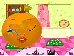 Pumpkin Beauty Makeover game