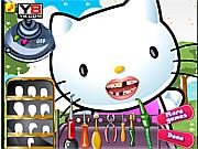 Jogar jogo grátis Hello Kitty Perfect Teeth