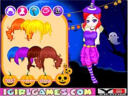 Lovely Halloween Girl game