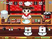 Sushi Serving game