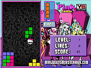 Monster High Tetris game