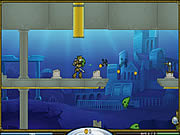 Atlantis Defender game