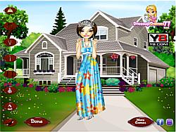 Preppy Floral Princess game