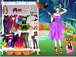 Halloween Witch Girl game