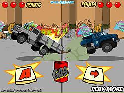 Trucks of War game