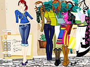 Girl Dressup 10 game