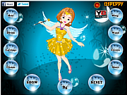 Peppy Fairy Girl Dress Up game