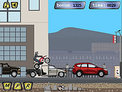 Rush Hour Motocross game