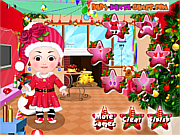 Baby Hazel Christmas Dress Up game
