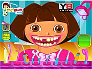 Dora dental care game