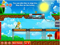 Tortoise Run After Mario game