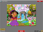 Dora Puzzle game