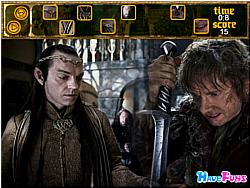 The Hobbit hide and seek game