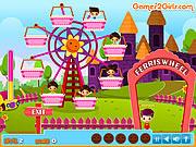 Kids on Ferris Wheel game