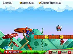 Mario Boarding game