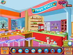 Kids shopping hidden game game