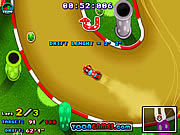 Jogar jogo grátis Mario Drift