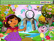 juego Cute Dora Hidden Numbers