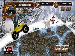 Artic Monster Truck game