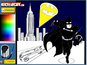 Batman Cartoon Coloring game