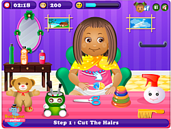 Little Daisy HairCare game